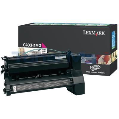 LEXMARK C780 X782 TONER CARTRIDGE MAGENTA 10K RP